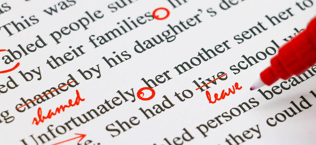 Review and Proofreading