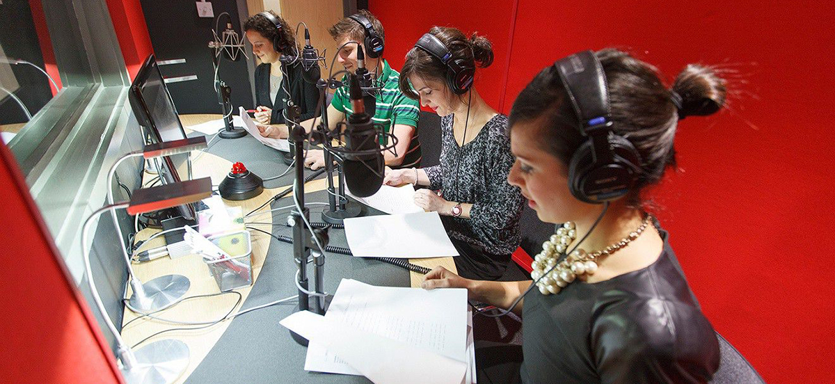 Dubbing and voice-over