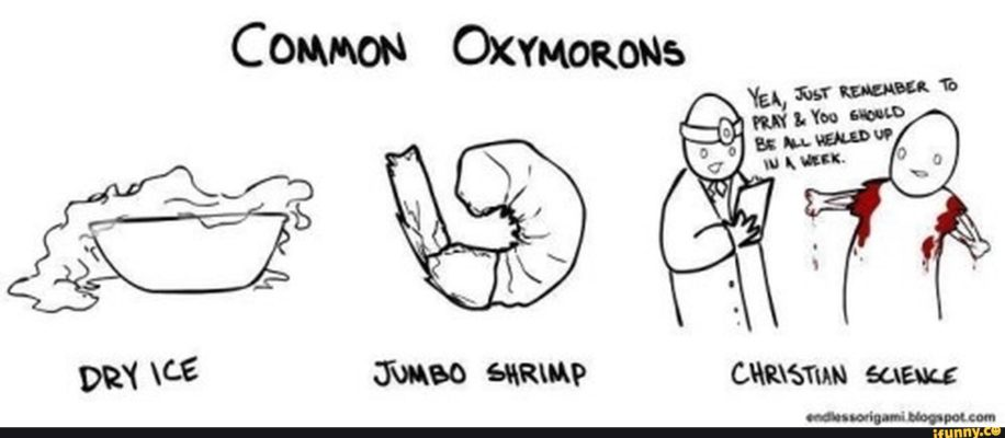 One-word Oxymorons