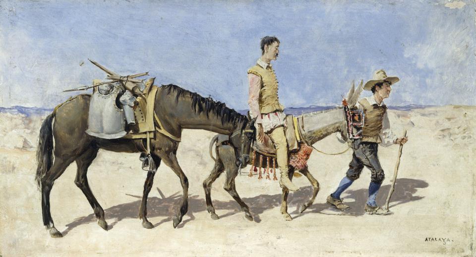Don Quixote and Google Translate