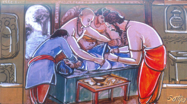 Sushruta Samhita: the first surgical manual
