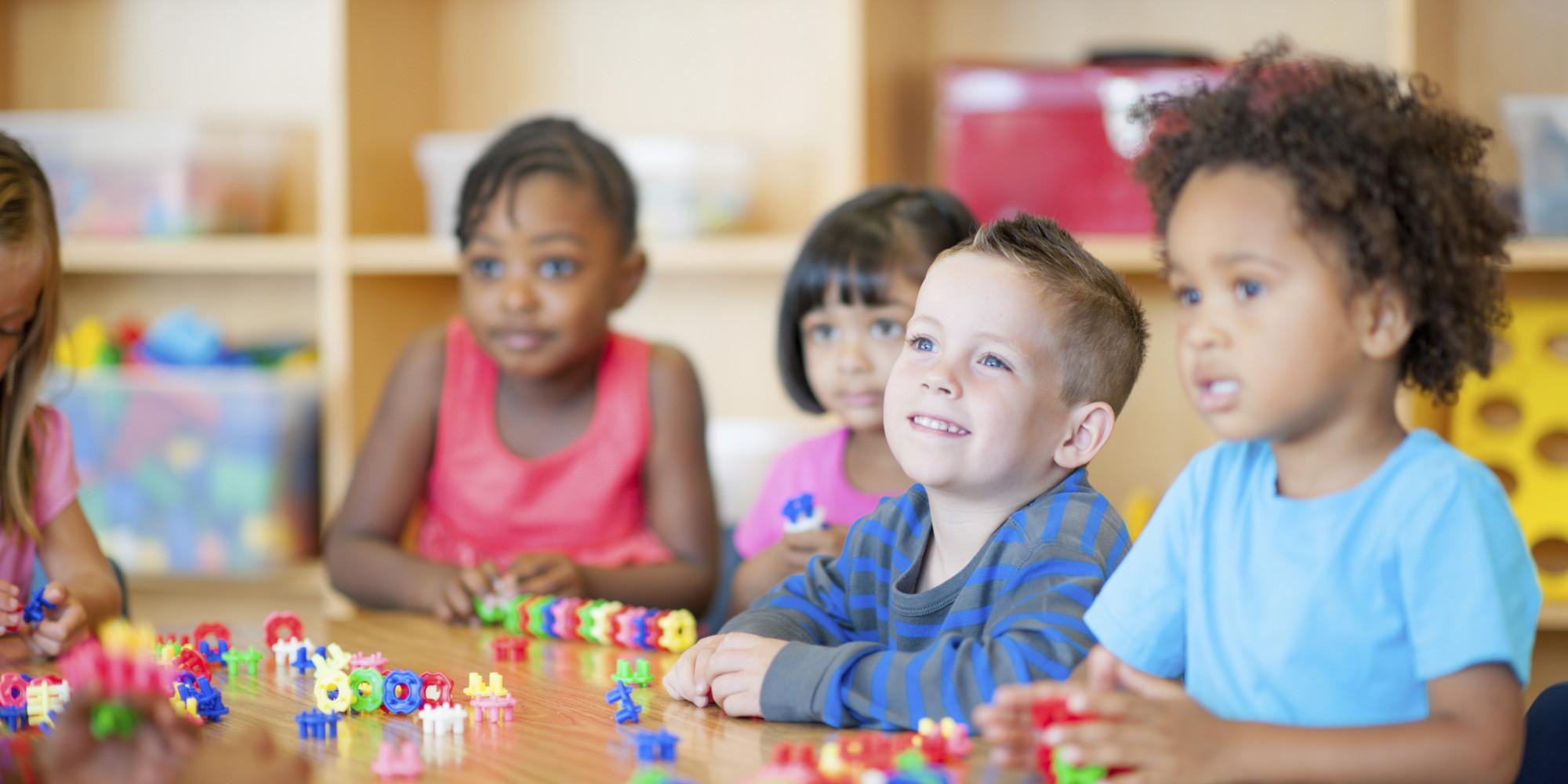 Language development in kindergarten