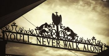 "Analysis of the song ""You will never walk alone"""
