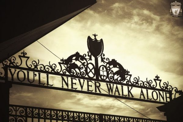 """Analysis of the song """"You will never walk alone"""""""