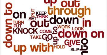 Most used phrasal verbs